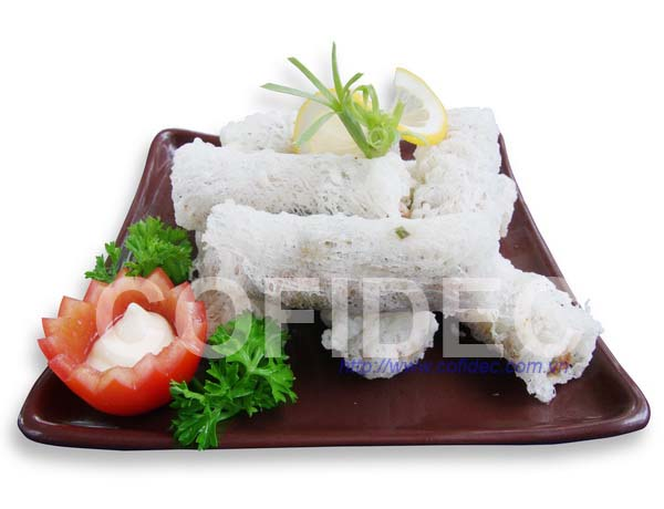 Seafood Net rice paper spring roll