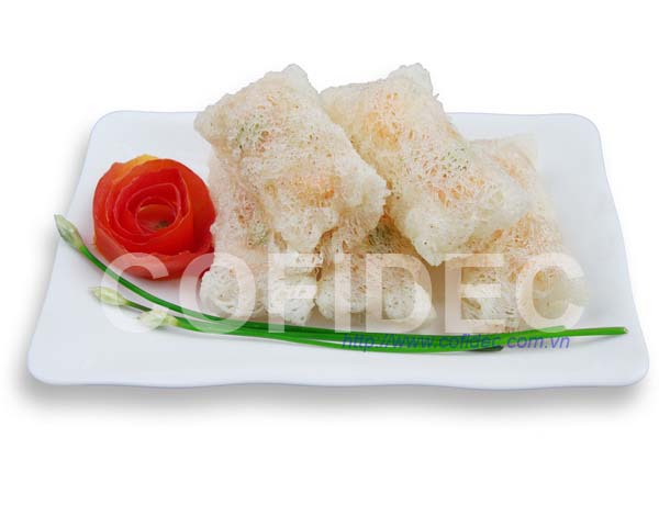 Colorful Net Rice Paper Spring Roll