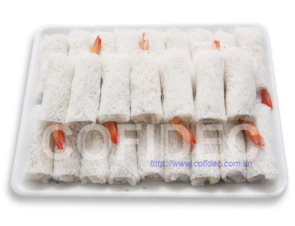 PTO Shrimp Net Rice paper Spring roll