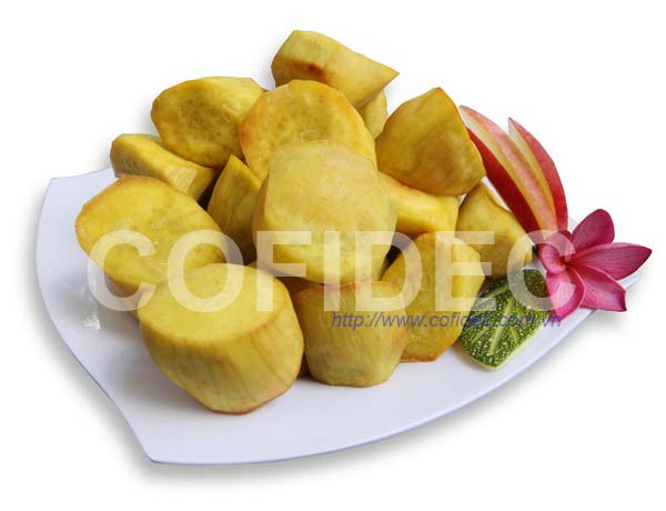 Fried Sweet Potato Random cut