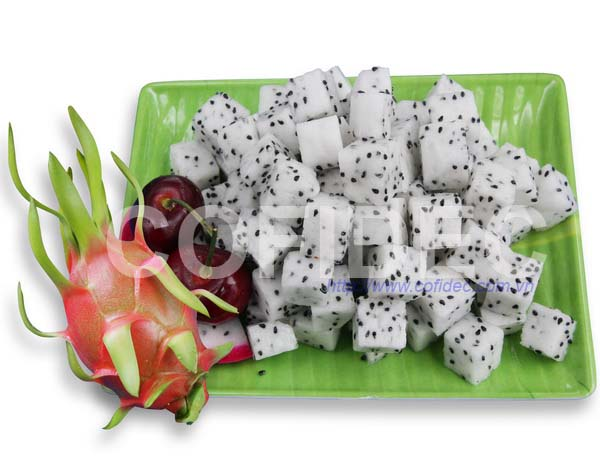 Dragon fruit Dice cut