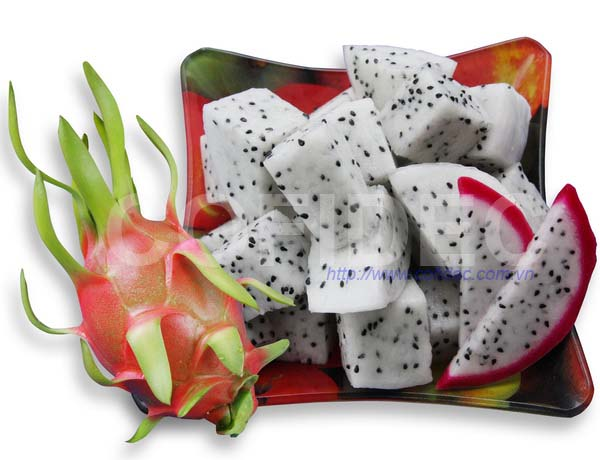 Dragon fruit Random cut