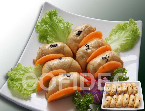 Dumpling with seafood paste